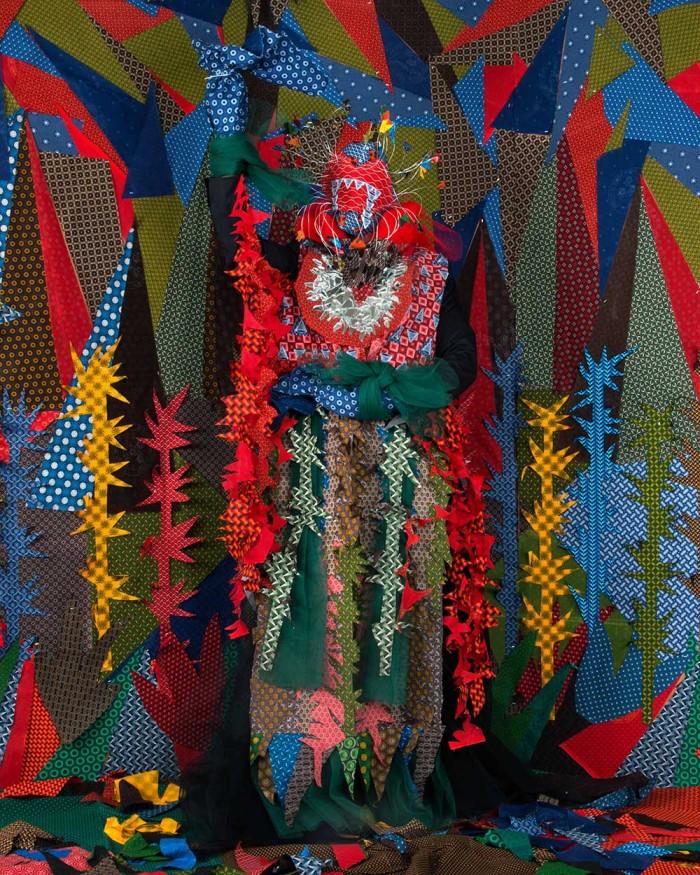 Les-Etres-D'Africadia-V-Libertina-LaReina-100x100cm-Inkjet-Photographic-Epson-on-Natural-Paper