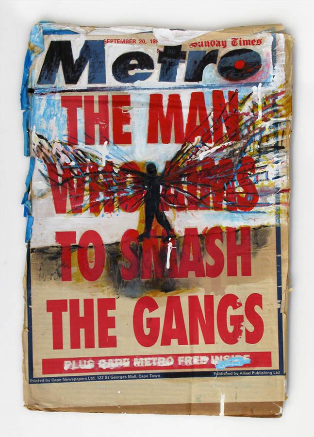 Billboards (gangs) 70 x 51cm